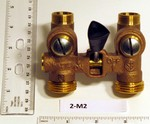 Watts 2-M2 Washing Machine Shut Off Valve 1/2