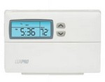 Luxpro PSP511LC 24V Battery Powered Digital Programmable Thermosta Day Program 1H-1C With Backlight
