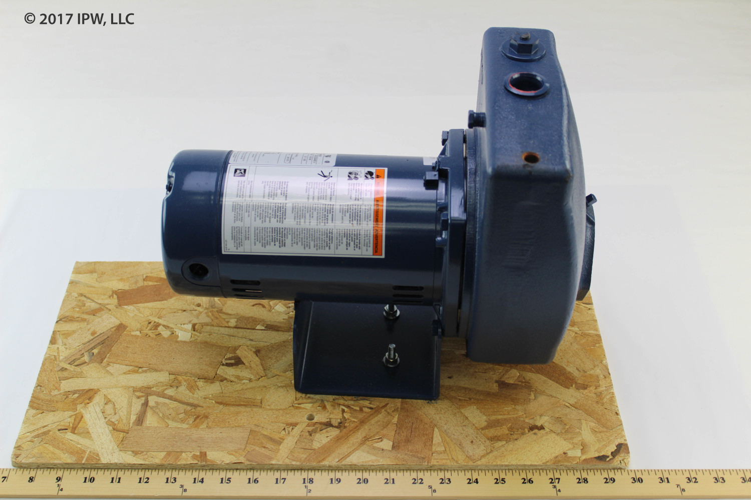 Sta-Rite Pumps 10HL3 1HP 3Phase Pump & Motor