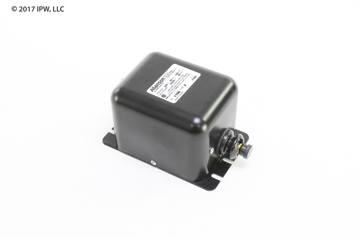 ALLANSON 1196-F Ignition Transformer for Gas Applications, 240V