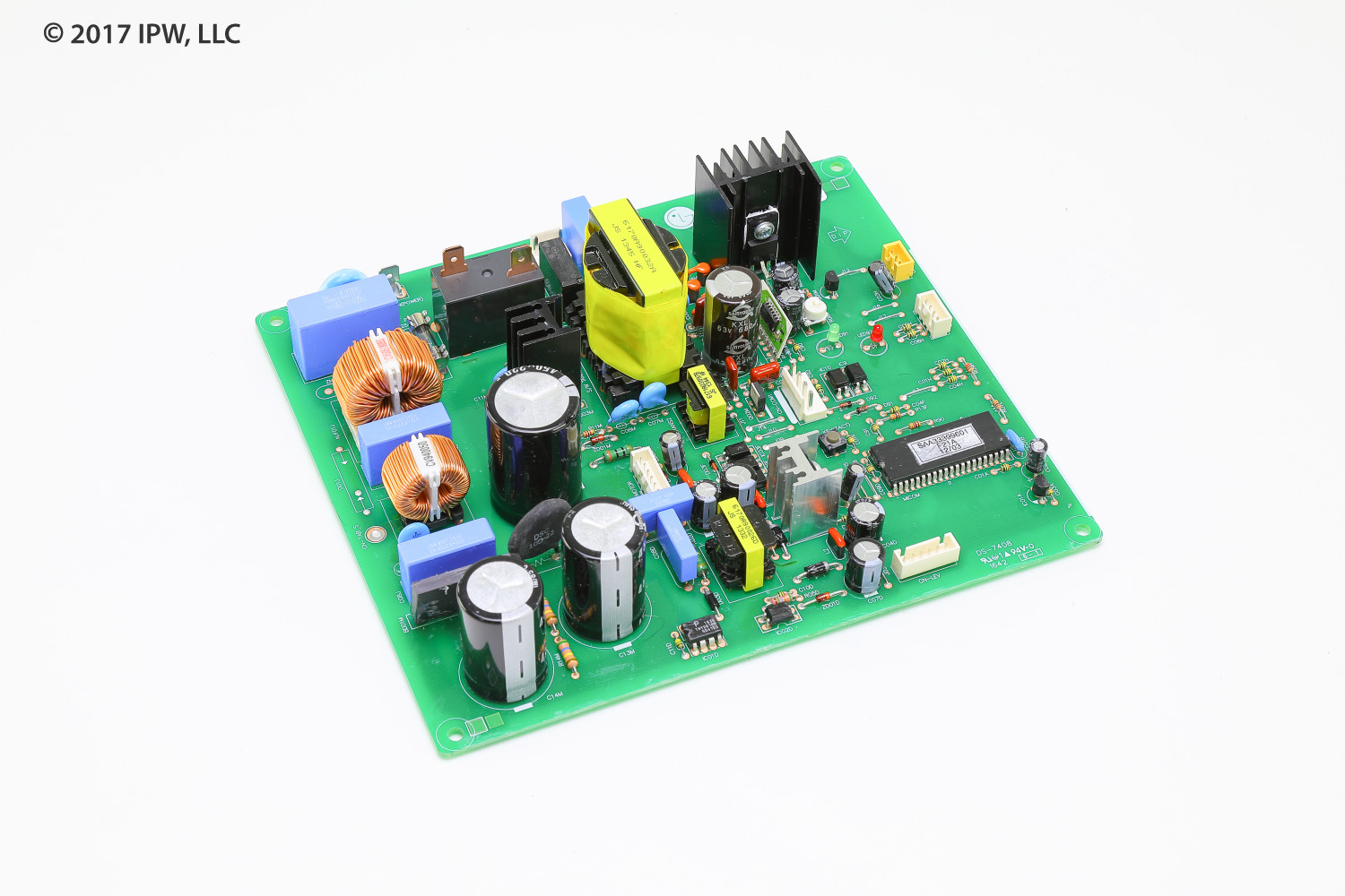 Heat Controller 6871A20901D Control Board Assembly