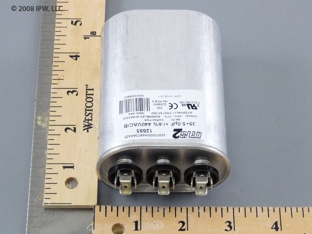 MARS 12885 35/5MFD 440V Oval Run Cap.