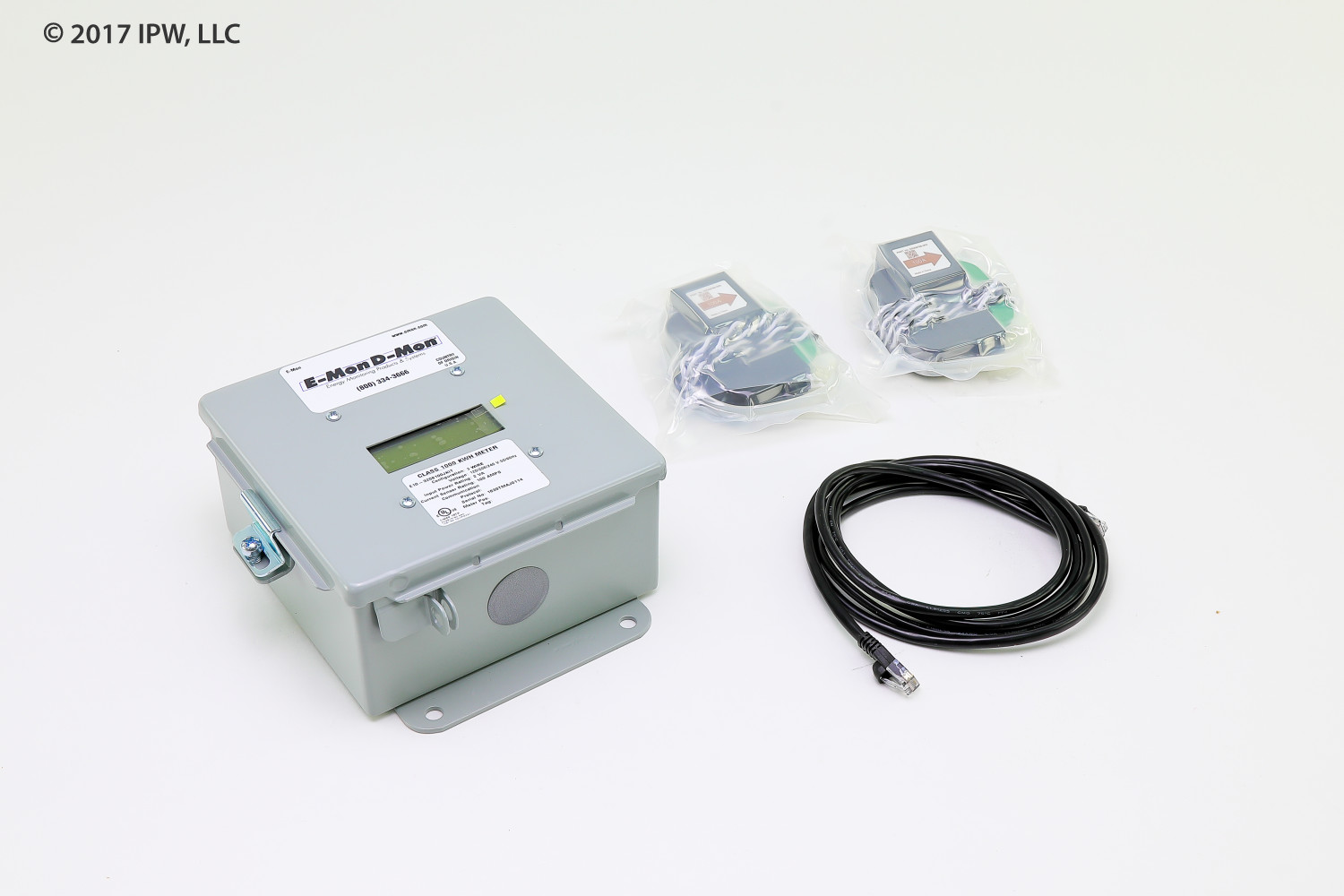Honeywell E-MON Meters E10-3208100-JKIT 100ampMeter120/208-240vPulse
