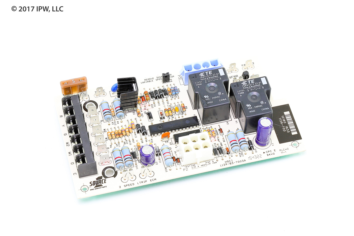 York S1-031-01264-002 Fan/Electric Heat ControlBoard