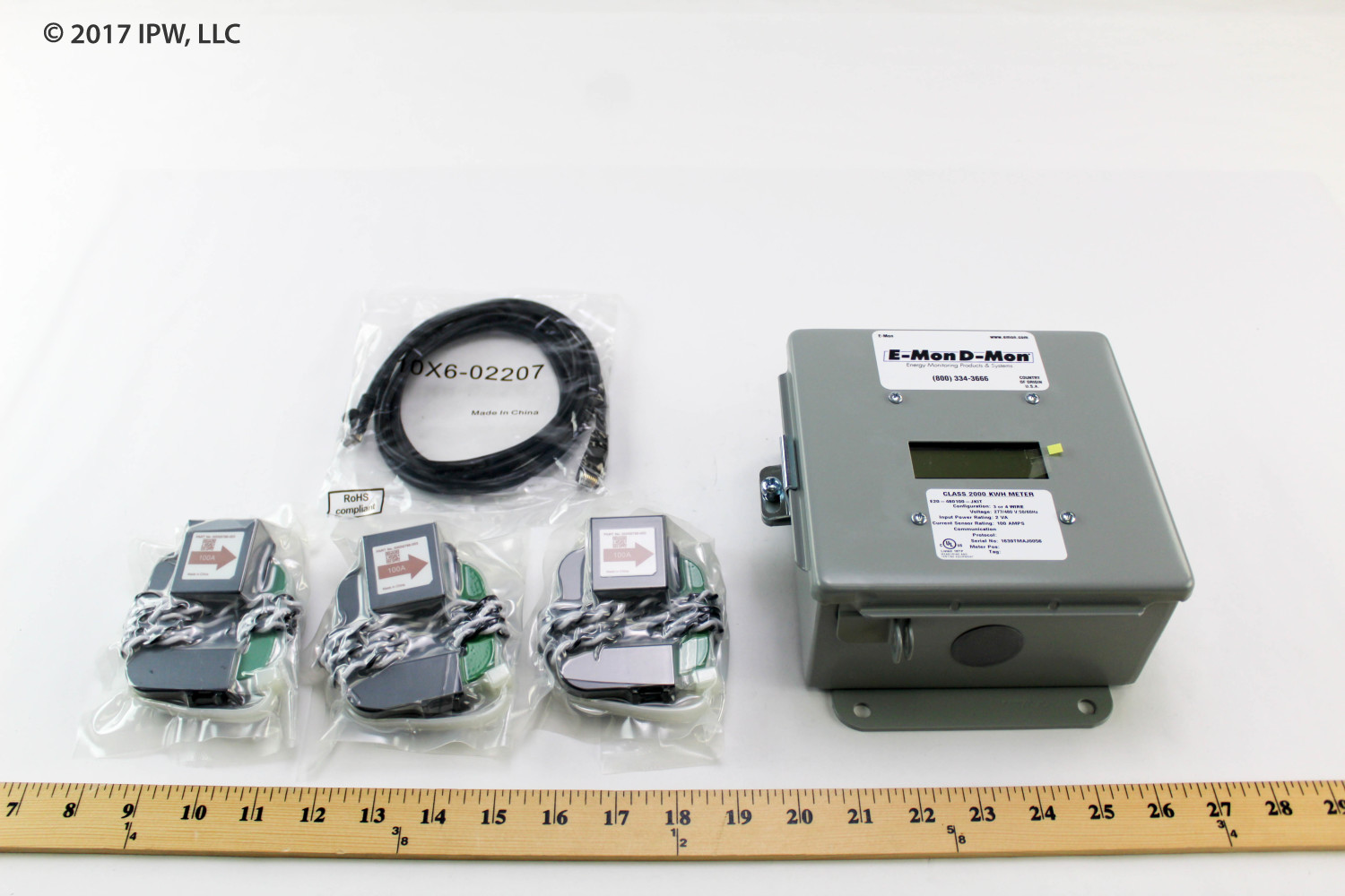 Honeywell E-MON Meters E20-208400-JKIT 400ampMeter120/208-240vPulse