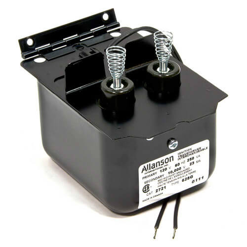 ALLANSON 2721-628G Ignition Transformer for Becket A, AF, AFG Burner