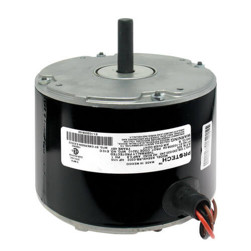 RHEEM 51-102500-05 1/10 HP 825 RPM 1-Speed Motor (208-230V)
