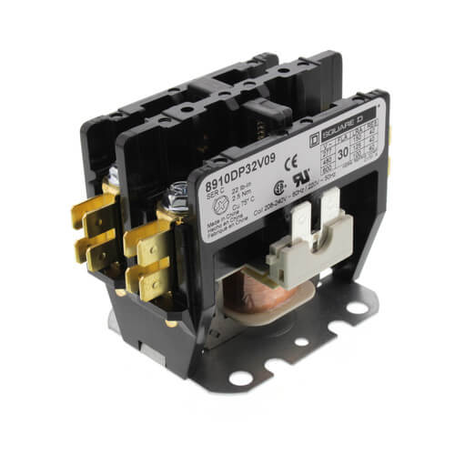Schneider Electric (Square D) 8910DP32V09 2 Pole, 30 Amp, Contactor (208/240V)