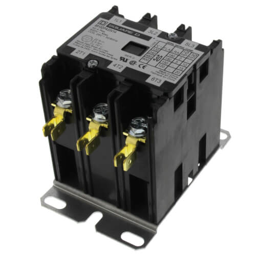 Schneider Electric (Square D) 8910DPA33V14 Definite Purpose Contactor (30A, 3 Phase, 3 Pole)