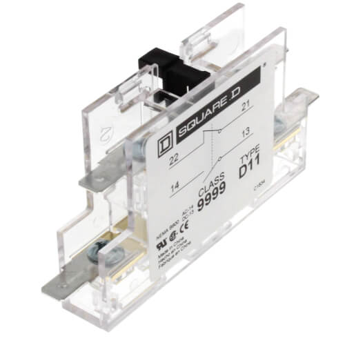 Schneider Electric (Square D) 9999D11 Normally Open/Normally Closed Auxiliary Contactor