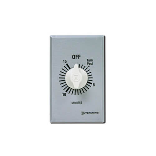 Intermatic FF15MC FF Series Commercial Auto-Off Timer, SPST (15 Minutes)