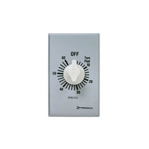 Intermatic FF60MC FF Series Commercial Auto-Off Timer, SPST (60 Minutes)