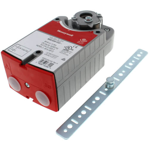 HONEYWELL MS8105A1030 Direct Coupled Actuator w/ Spring Return, 24V (44 lb-in Torque)