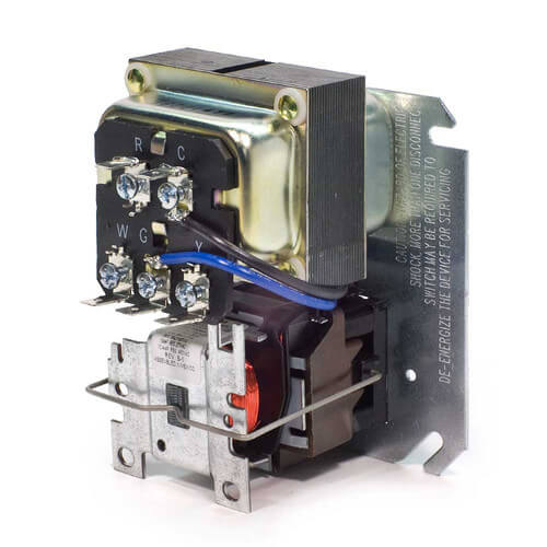 honeywell r8285b1053 40 va fan center w/ dpdt switch includi