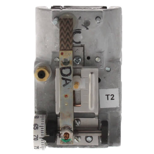 JOHNSON CONTROLS T-4002-201 Direct Acting Pneumatic Horizontal Mount Thermostat (cover sold separately)