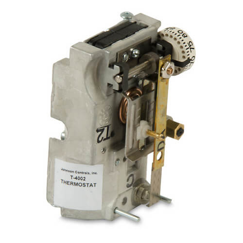 JOHNSON CONTROLS T-4002-202 Reverse Acting Pneumatic Horizontal Mount Thermostat (cover sold separately)