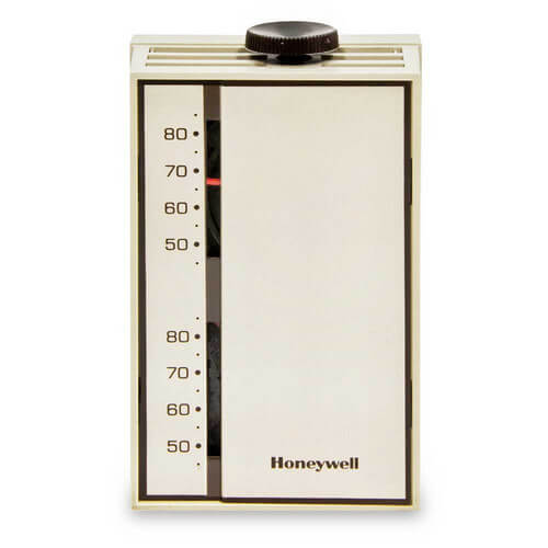 HONEYWELL T6051A1016 Heavy Duty Line Voltage Thermostat (46 to 84F)