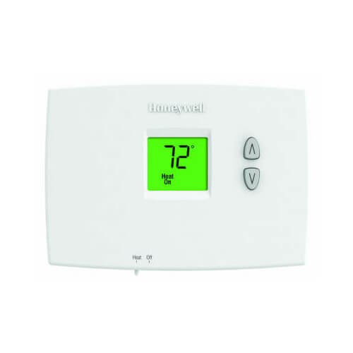 HONEYWELL TH1100DH1004 PRO 1000 Non-Programmable, Heat Only, Horizontal Thermostat