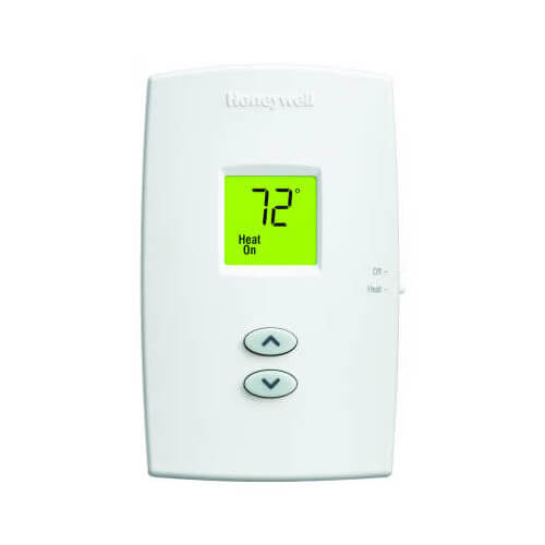 HONEYWELL TH1100DV1000 PRO 1000 Non-Programmable, Heat Only, Vertical Thermostat