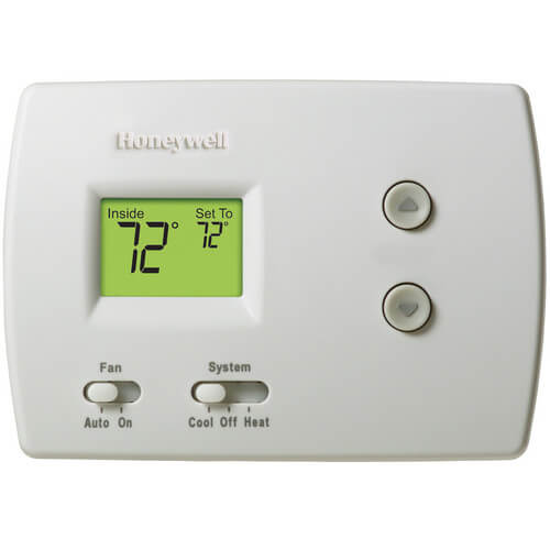 HONEYWELL TH3210D1004 Pro Non-Programmable, 2H/1C, Standard Display Thermostat