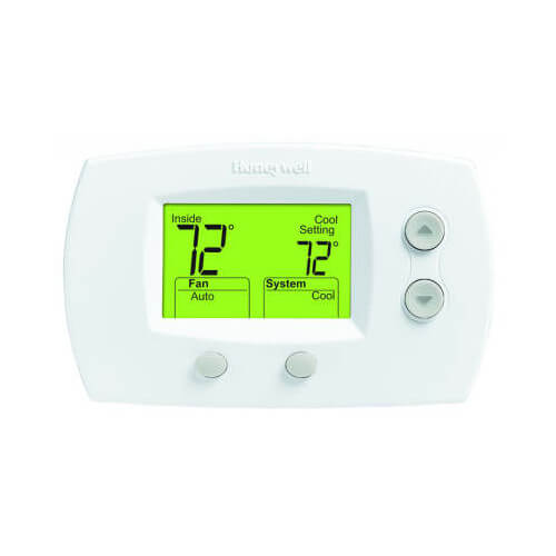 HONEYWELL TH5220D1003 FocusPro Non-Programmable, 2H/2C Thermostat