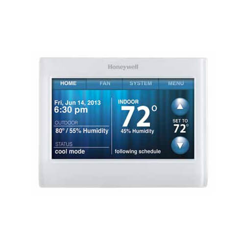 HONEYWELL TH9320WF5003 Wi-Fi 9000 7-Day Programmable 3H/2C Color Touchscreen Thermostat