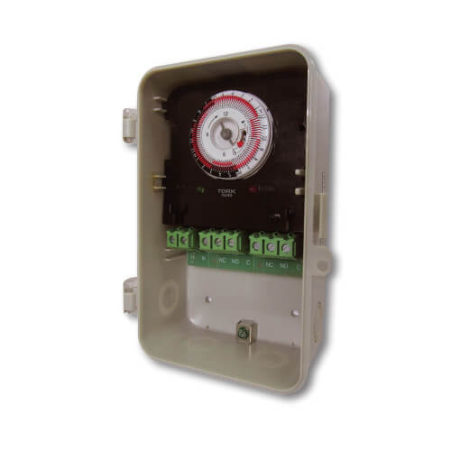 Tork Timers TU40 Universal Multi-Voltage 24 Hour Mechanical Time Switch