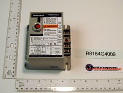 Honeywell R8184G4009 Cad Cell Relay (45 Sec)Intermittent,120V