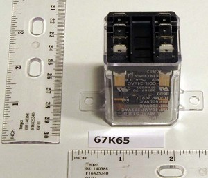 Armstrong 67K65 24V Dpdt Fan Control Relay