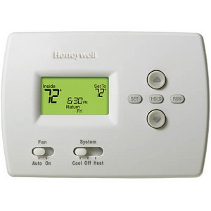 HONEYWELL TH4110D1007 Pro Programmable, 1H/1C, Standard Display Thermostat